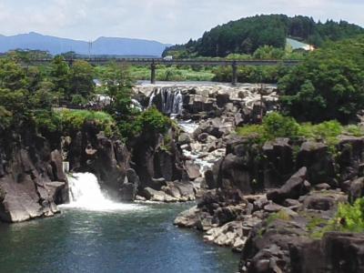 東洋のナイヤガラの滝(曽木の滝)~曽木発電所遣構 ※鹿児島県伊佐市