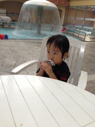 家族旅行  2013年 夏( 長男4歳 次男2歳)奈良健康ランド