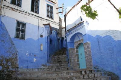 青の街シャウエン (モロッコ旅行 その2)