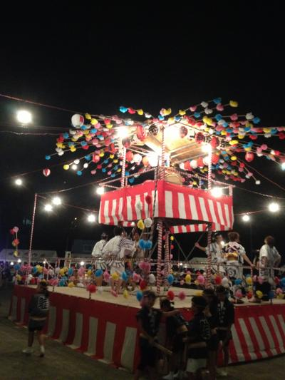 2013夏 町内会主催の夏祭り!~ 設営から撤収まで参加!