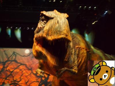 大迫力の恐竜に驚かされ、熊に癒された週末☆