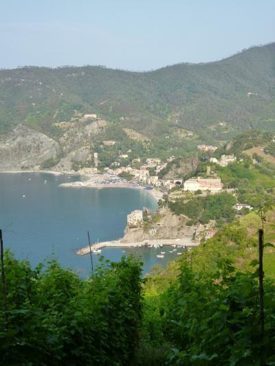 優雅な夏バカンス イタリア・東リビエラの旅♪ Vol47(第5日目午前) ☆モンテロッソ・アル・マーレ~ヴェルナッツァ:モンテロッソから隣町ヴェルナッツァへハイキング♪美しいモンテロッソの絶景を眺めて♪