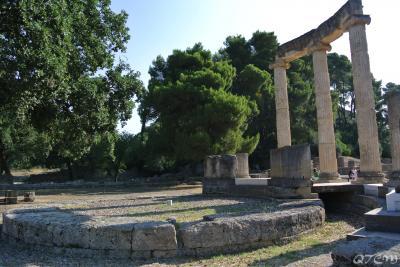2013年 MSC DIVINA 東地中海クルーズ 3日目 オリンピアの遺跡