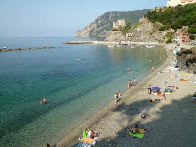 優雅な夏バカンス イタリア・東リビエラの旅♪ Vol62(第6日目朝) ☆モンテロッソ・アル・マーレ:素晴らしい天気♪「Hotel Porto Roca」の朝食♪