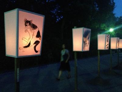 鎌倉 夏の風物詩 ぼんぼり祭り2013