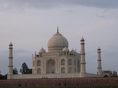 裏側タージを見る。魅惑の国インド!引き寄せられて行っちゃいました。やっぱり呼ばれたかしら?②アグラへ