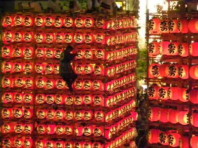 2013 久喜市 提灯祭(天王様) 駅前にて 下