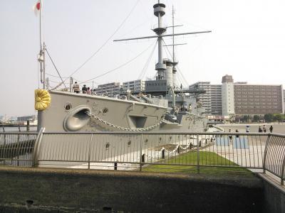 猛暑のYOKOSUKAは軍艦が熱い!