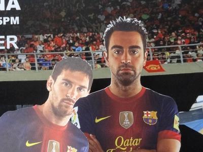 クアラルンプール・ウォーカーズ⑨ バルセロナ vs マレーシア選抜 ちらっと生観戦 (メッシ、ネイマール)