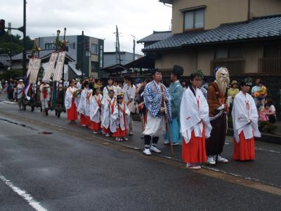 村上大祭-神輿渡御(1)