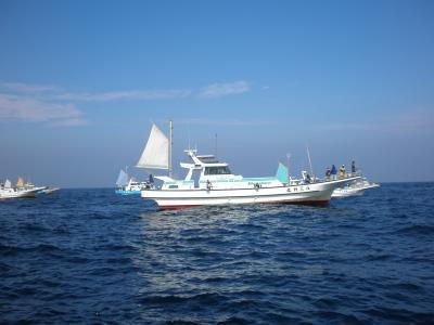 平塚で初めての海釣り