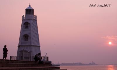 【大阪府(堺)】 夕日を眺めながら、ノスタルジックな気分に浸かりたい~♪