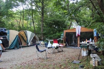 キャンプ 2013年 8月・ 千葉県山武 有野実苑