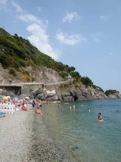 優雅な夏バカンス イタリア・東リビエラの旅♪ Vol93(第8日目午後) ☆モンテロッソ・アル・マーレ:午後もビーチで思いっきりにバカンス♪