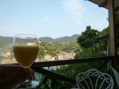 優雅な夏バカンス イタリア・東リビエラの旅♪ Vol98(第9日目朝) ☆モンテロッソ・アル・マーレ:「Hotel Porto Roca」の最後の朝食♪