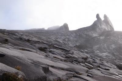 初の海外登山、キナバル山