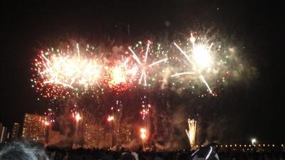 平和都市宣言記念事業「花火の祭典」−大田区