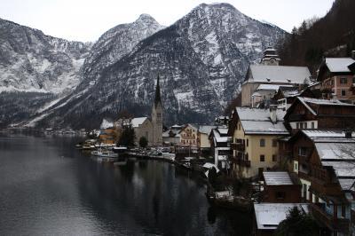 2013年の初めにドイツとオーストリアのたび4泊6日 その2「ハルシュタット・ザルツブルグ観光編」