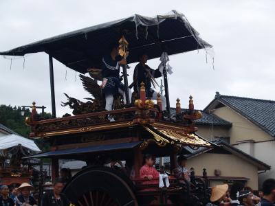 村上大祭-おしゃぎり巡行(3番寺町)