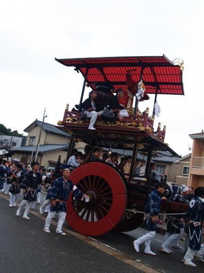 村上大祭-おしゃぎり巡行(6番塩町)