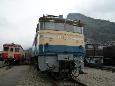 紅葉リベンジ その1:鉄道文化むら