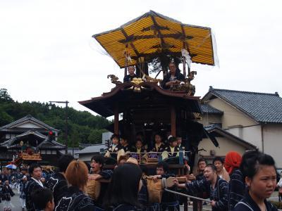 村上大祭-おしゃぎり巡行(11番鍛冶町)
