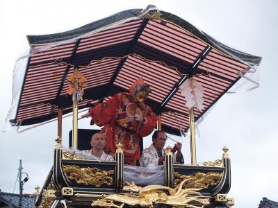 村上大祭-おしゃぎり巡行(16番片町)