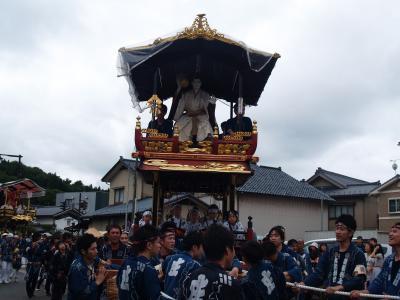 村上大祭-おしゃぎり巡行(15番庄内町)