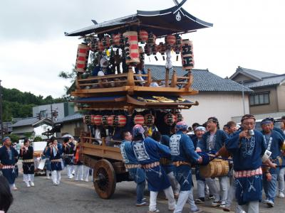 村上大祭-おしゃぎり巡行(19番泉町)