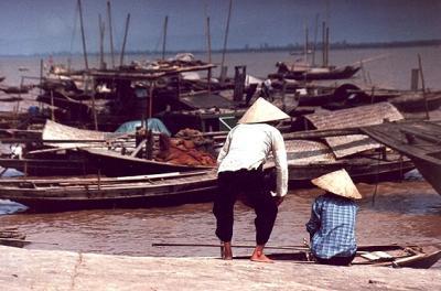 ★ちょっと昔のベトナム 1992年個人旅行(3、完)ハノイからハロン湾へ