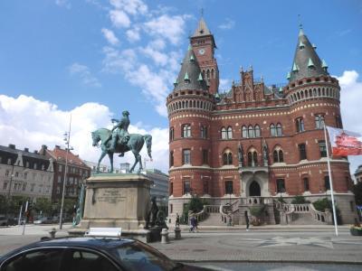 スゥエーデンの地方都市ヘルシンボリ&マルメを周遊