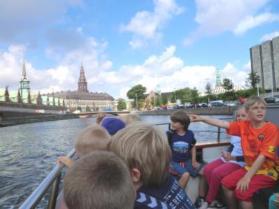 コペンハーゲン観光 (3) 運河クルージング