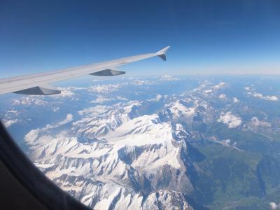 南イタリア 2013夏 空の旅~パリ/ナポリ/パリ~ & 陸の旅~ナポリ空港-ナポリ中央駅、ベヴェレッロ埠頭-ナポリ空港~