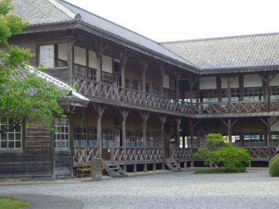 道の駅上品の郷と登米の明治村