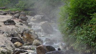 温泉の旅(08)・・・西の河原を散策