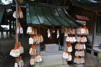 ヤングママ、パパが祈る穂高神社