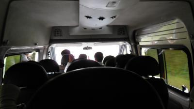 ディエンビエンフーからサパにバスで移動