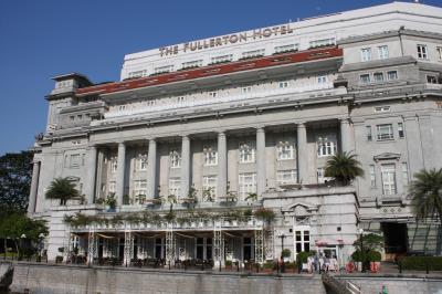 シンガポール フラートンホテルその1