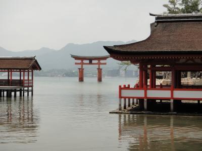 厳島神社☆宮島であなご飯と焼きガキを食べよう!