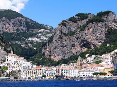 南イタリア 2013夏 陸の旅~SITAバスでミノーリ-アマルフィ~&アマルフィ街歩き