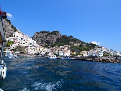 南イタリア 2013夏 海の旅(アマルフィ~エメラルドの洞窟 クルーズ)