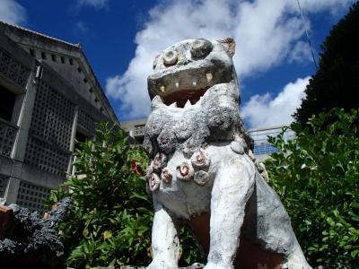 2013年夏 沖縄本島6泊7日の旅 6日目 首里城、識名園、北谷、かでな