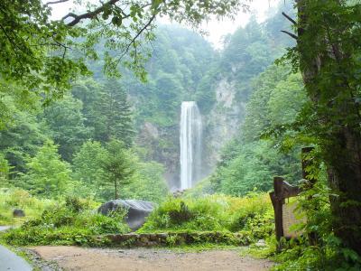 安房峠と平湯大滝