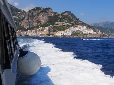 南イタリア 2013夏 海の旅(アマルフィ~カプリ島) 何処までも続く一面のブルー!