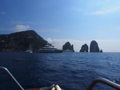 南イタリア 2013夏 青の洞窟 第二弾 ~海からチャーター船でアプローチ~ & カプリ島一周クルーズ