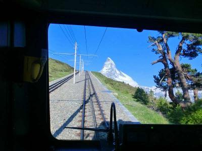 スイスハイキング2013・16日目:ゴルナグラート鉄道とマッターホルン