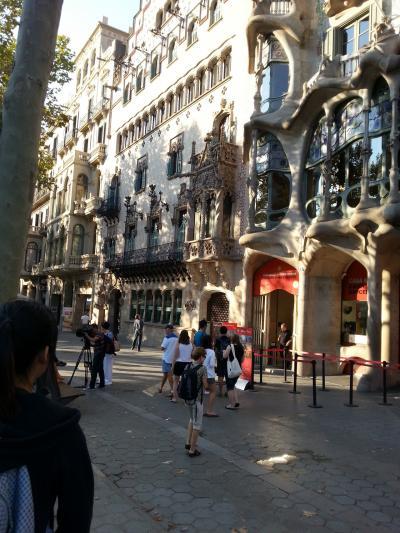 初スペイン→バルセロナ