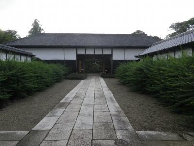 野田の上花輪歴史館と名勝高梨氏庭園に入館