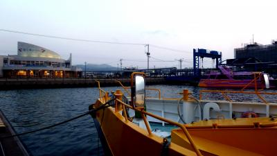 第3部五島列島(長崎)の小さく質素だが美しい教会群巡礼04五島列島南の玄関福江港へ