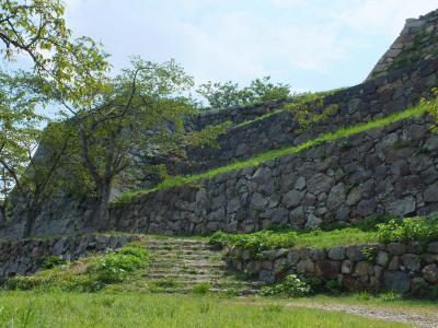 鳥取県 米子市=城山(米子城跡)